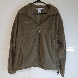 Columbia Zip-Up Fleece Jacket Size Large